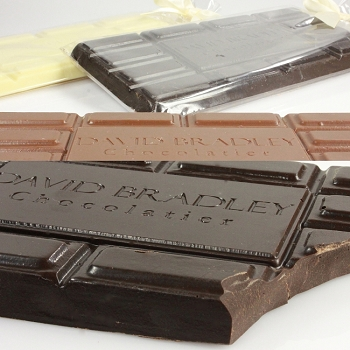 7oz Solid Chocolate David Bradley Bars