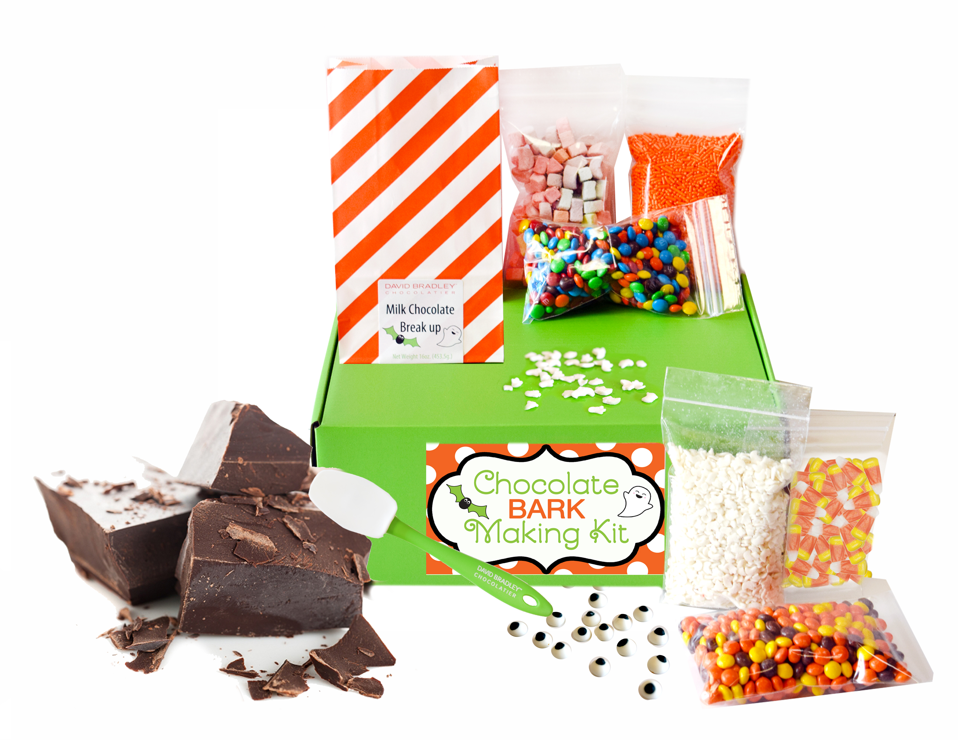Store Pick up: Halloween Chocolate Bark Making kit