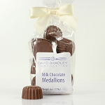 Solid Chocolate Medallions
