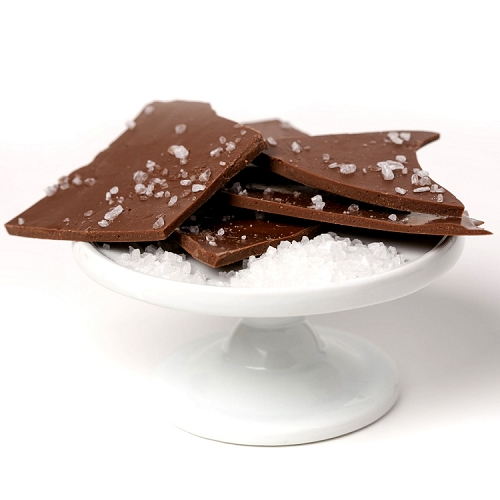 Sea Salted Chocolate Bark