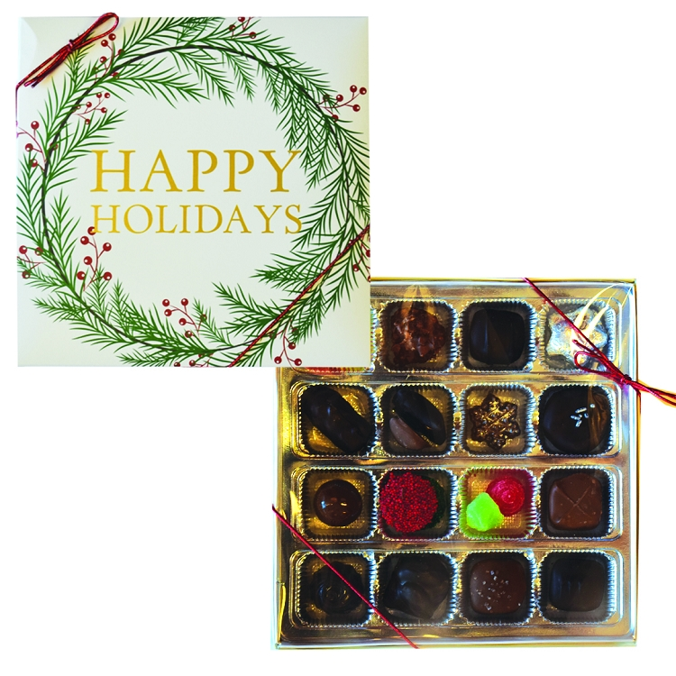 Happy Holiday 16 piece Gift Box
