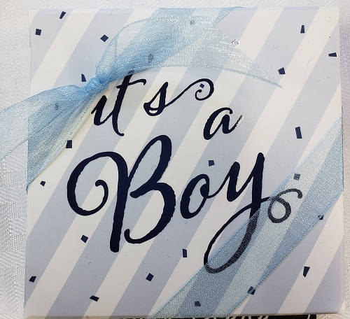 It's a Boy 4pc Assortment