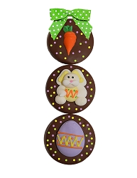 3 Piece Easter Chocolate Ore-ohs 2.5oz.