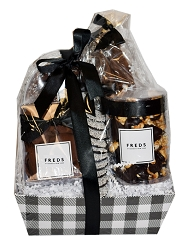Black and White Gift Basket