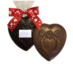 Large Solid Chocolate Valentine Heart
