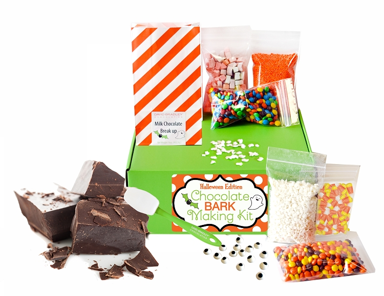 Shipped: Halloween Chocolate Bark Making kit  *Limited Quantities Available*