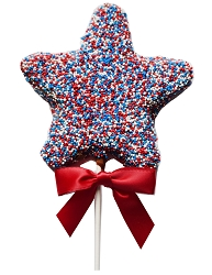 Red, White and Blue Star Pop