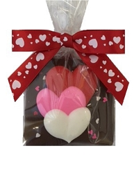 2 piece Valentine Chocolate Graham Crackers