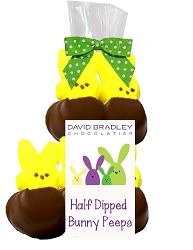 Easter Chocolate Marshmallow Peeps 2oz.