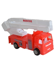 Pull Back Firetruck Toy