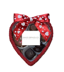 Mini Edible Heart with assorted chocolates