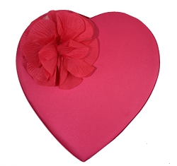 Pink Flower Heart 23oz.