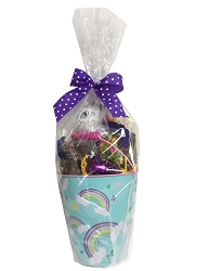 Easter Rainbow Pail with