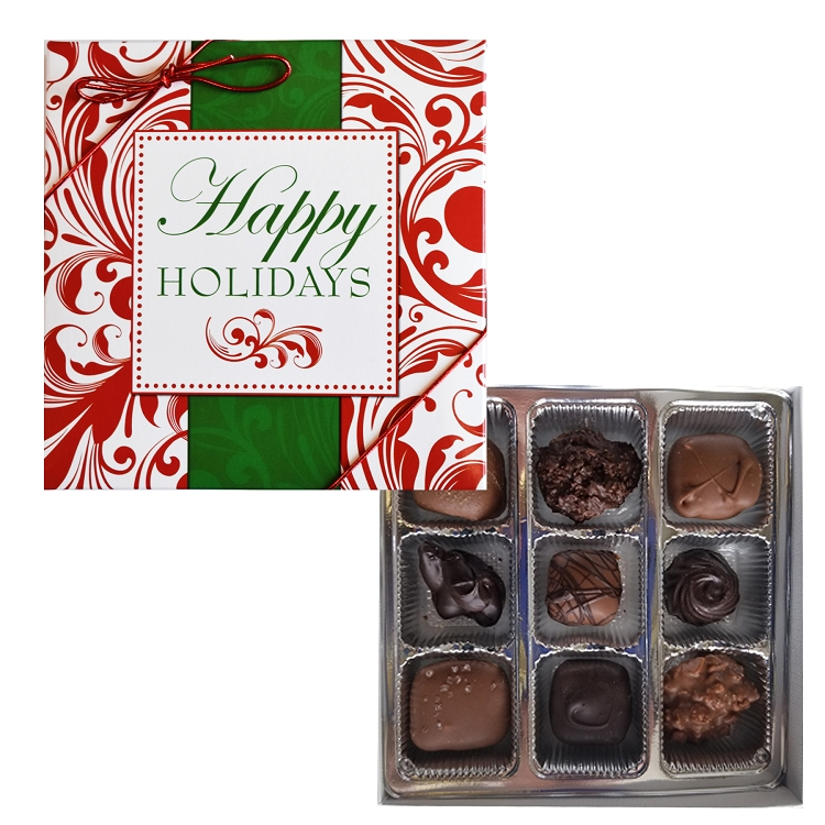 Happy Holiday Assortment 9pc box