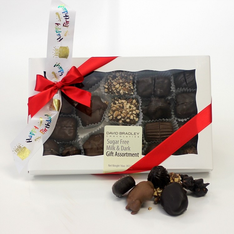 Happy Birthday Sugar Free Assortment Box