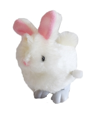 Wind Up Fluffy Bunny