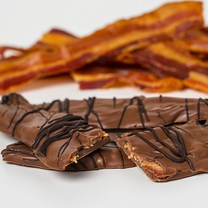 20 Pack Chocolate Covered Milk Bacon