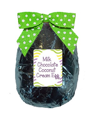 4oz Milk Chocolate Coconut Cream Egg