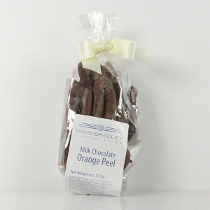 Orange Peels Chocolate Covered